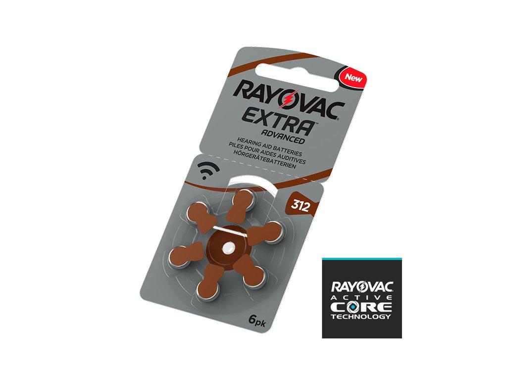 Baterie Rayovac 312