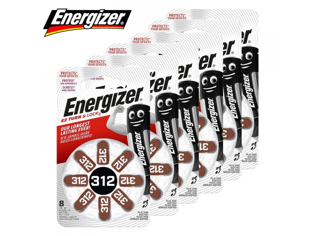 Krabička Baterií Energizer 312