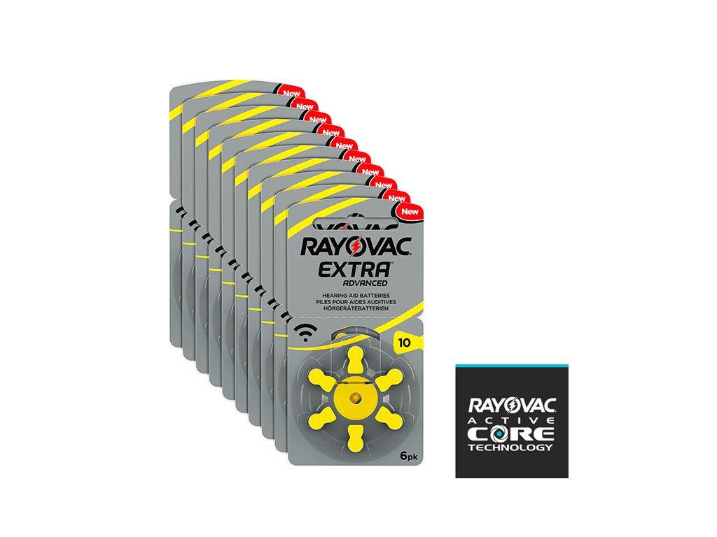 Krabička Baterií Rayovac 10