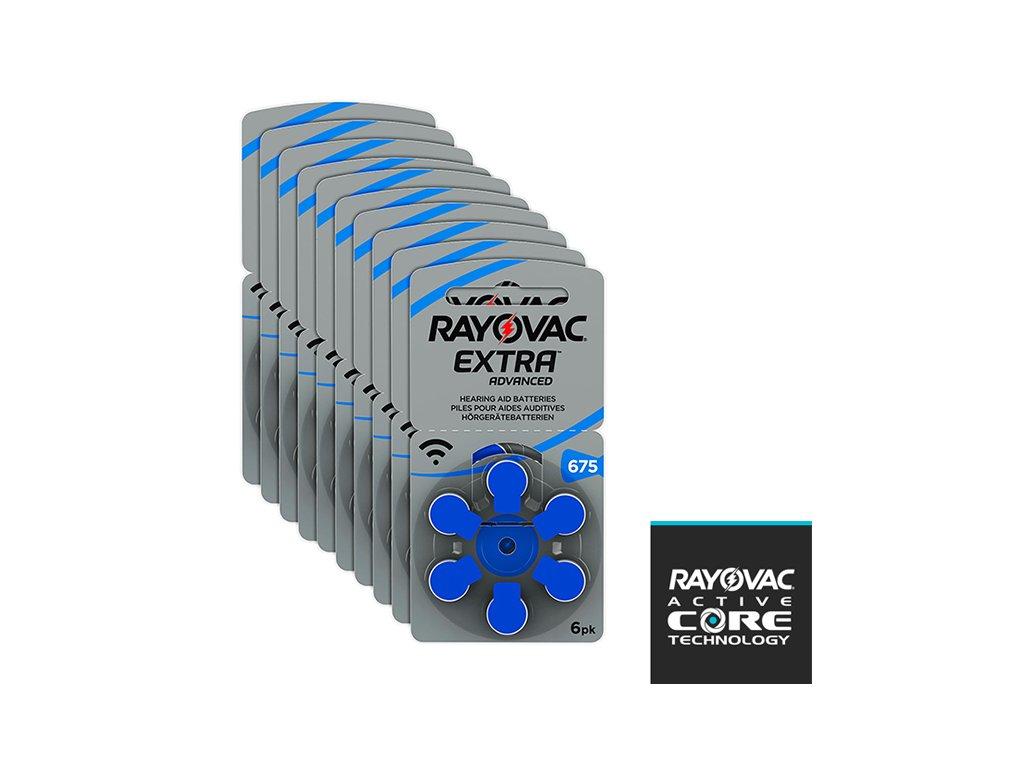 Krabička Baterií Rayovac 675