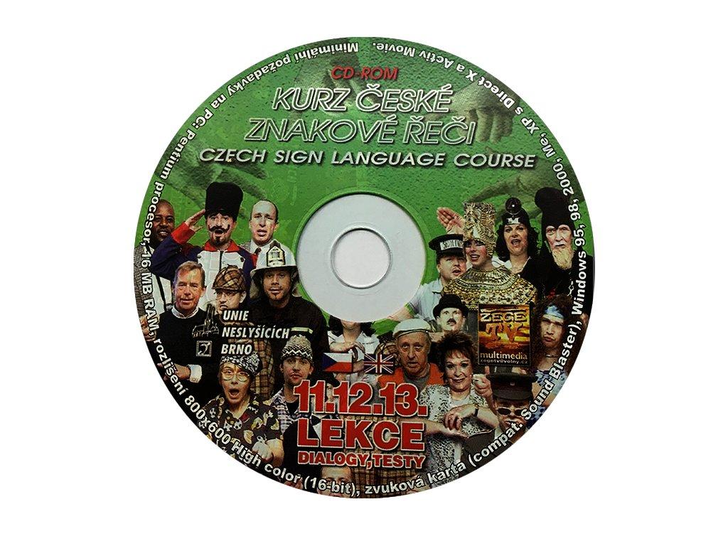 Multimediální CD 4 - Kurz českého znakového jazyka
