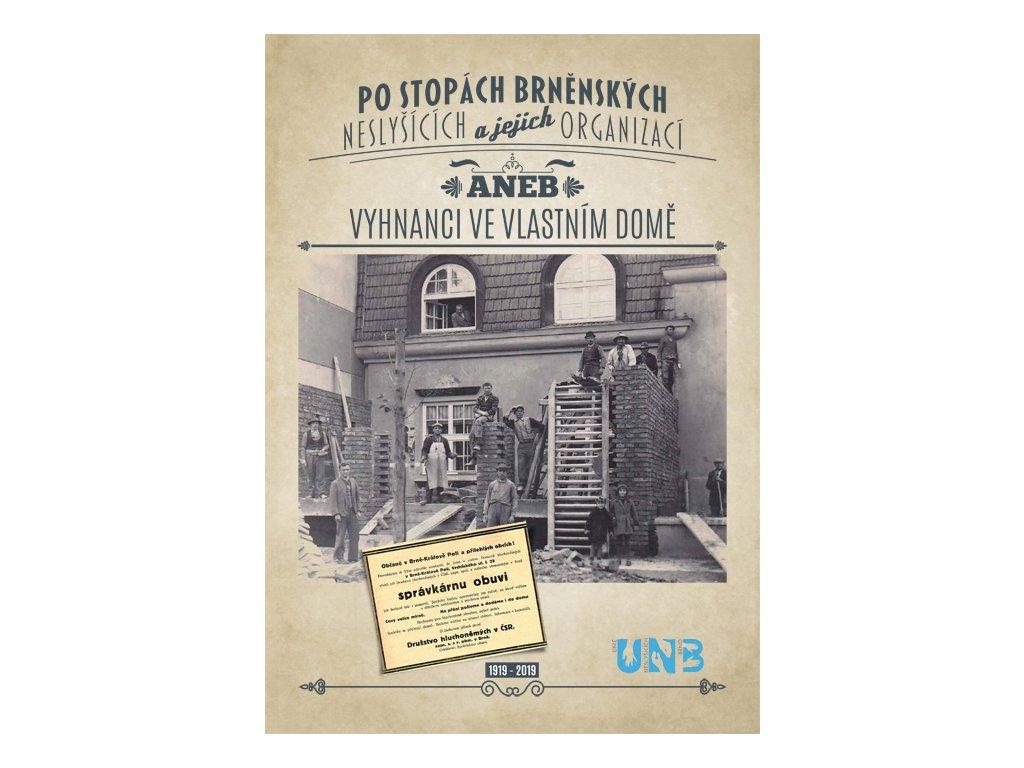 Kniha po stopách brněnských neslyšících a jejich organizací