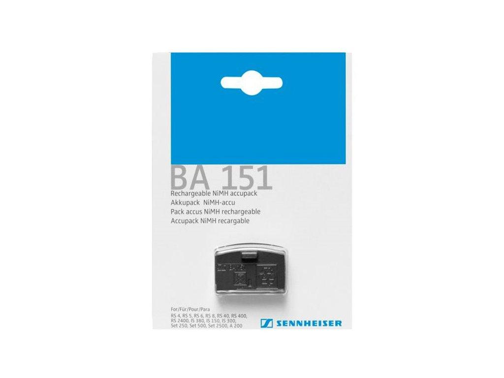 Náhradní baterie Sennheiser BA 151 AKU