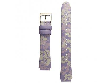 Náhradní řemínek pro Vibralite Mini (barva fialová s květinami)