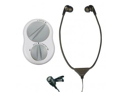 Crescendo 60/1 zesilovací systém zvuku se stetoskopickými sluchátky