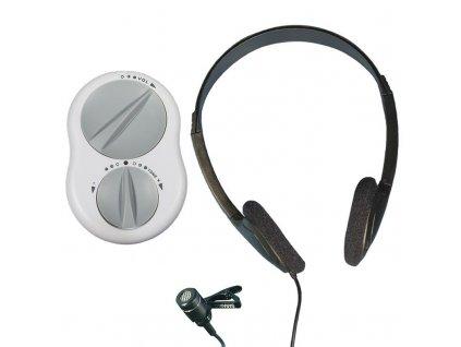 Crescendo 60/2 zesilovací systém zvuku s náhlavními sluchátky