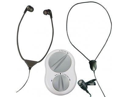 Crescendo 60/8 zesilovací systém zvuku se stetoskopickými sluchátky a s indukční smyčkou