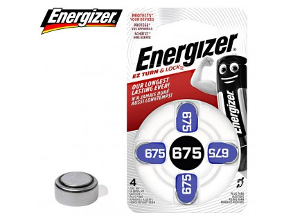 Baterie Energizer 675