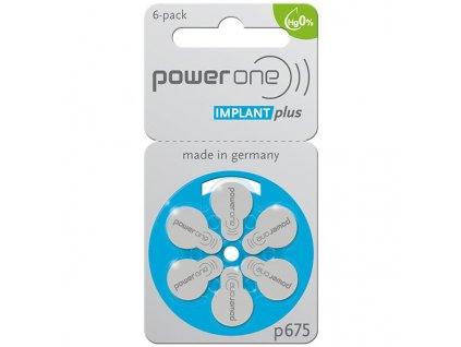 Baterie PowerOne 675 IMPLANT plus