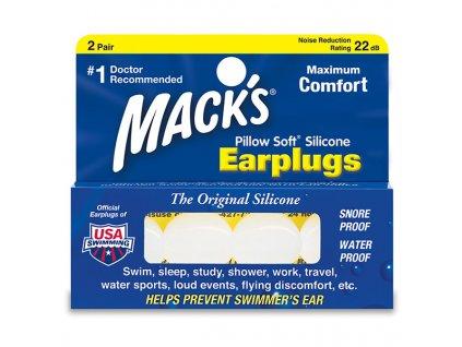 Ochranné silikonové špunty do uší