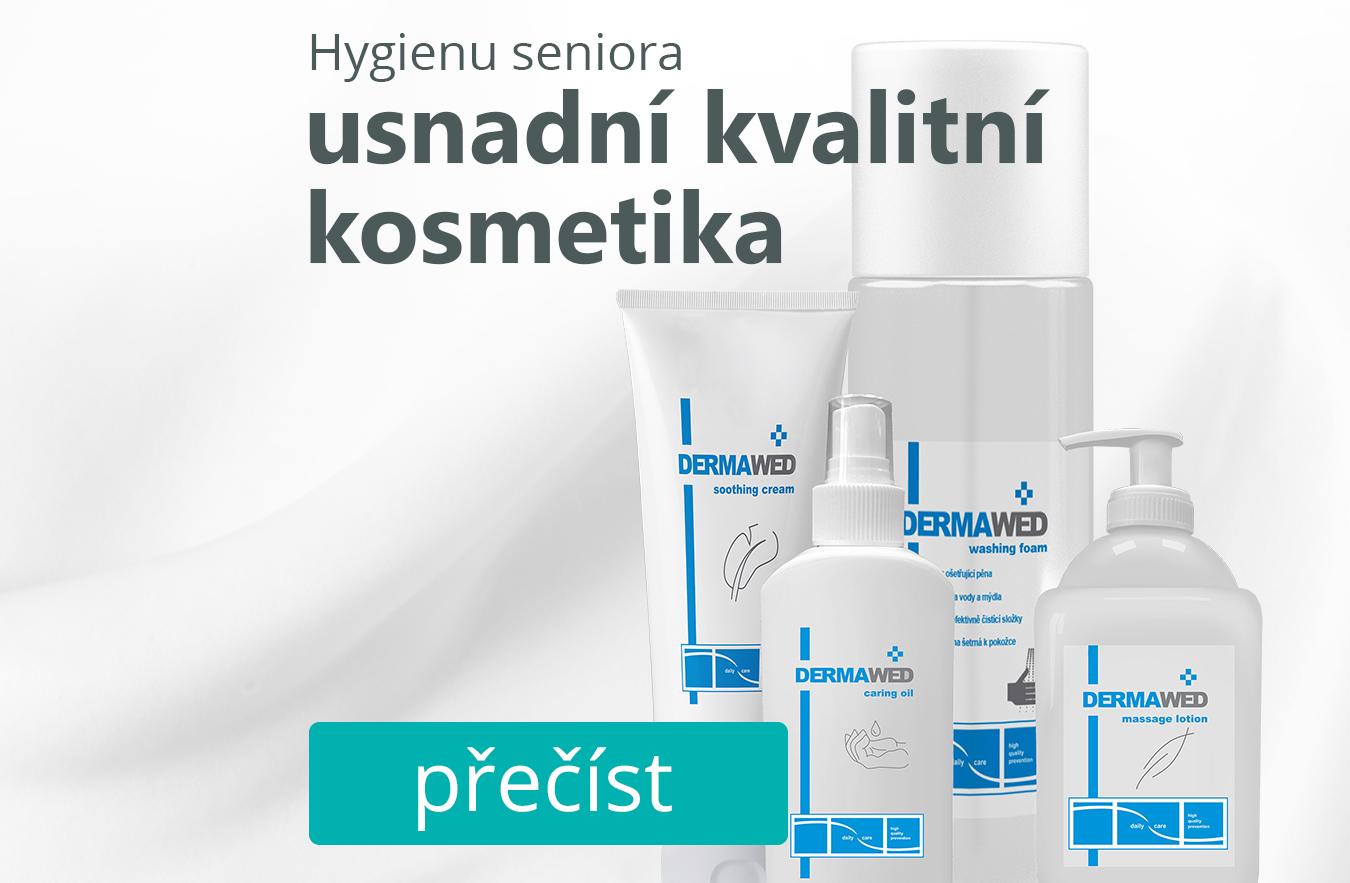 Správnou hygienu seniorů usnadní kvalitní kosmetika