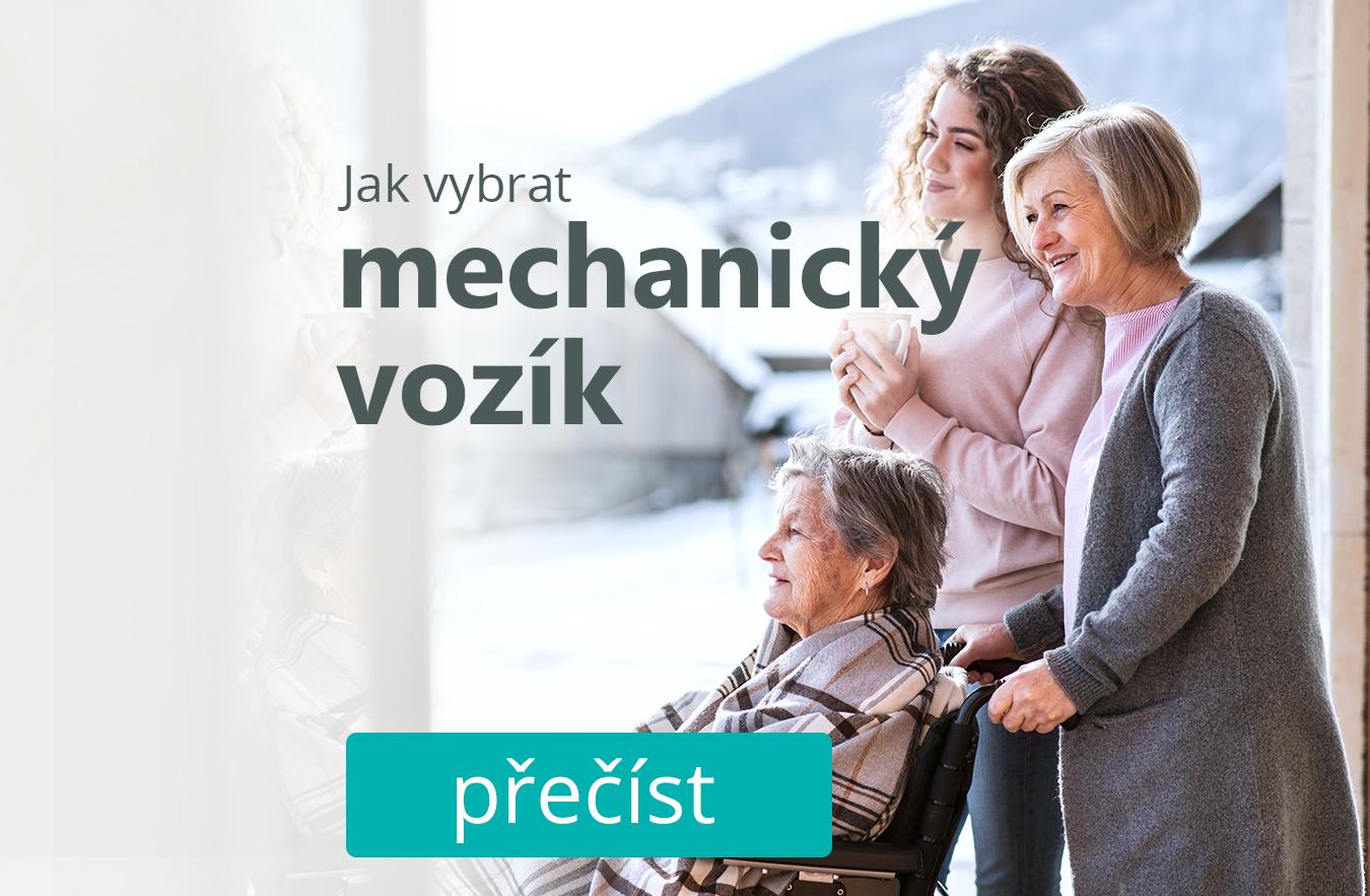 Jak vybrat mechanický invalidní vozík