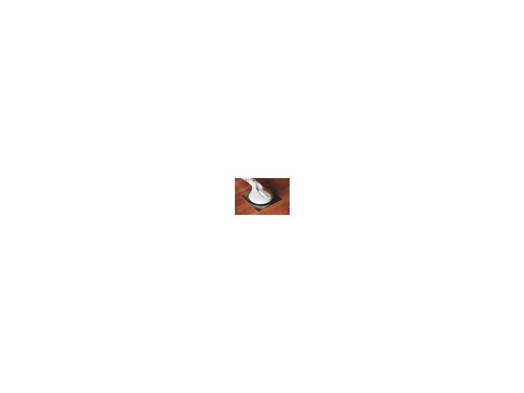Nerezová samolepící destička 2 ks pro drsný povrch nebo pro dlaždičky o průměru menším než 14 cm