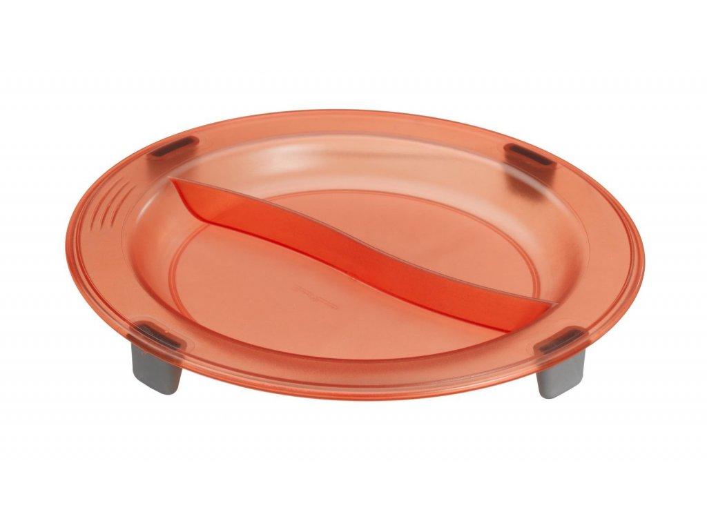Protiskluzový talíř, 2 oddíly