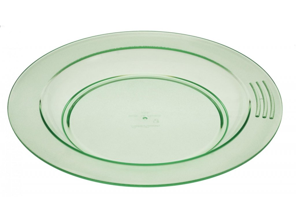 Protiskluzový talíř se zvýšeným okrajem