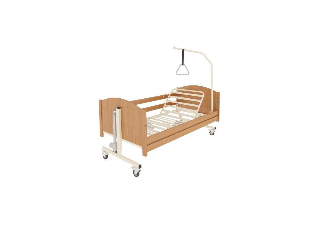 Polohovací postel pro seniory TAURUS + rošt