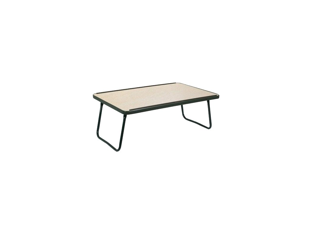 Stolek na lůžko s pevnou stolní deskou