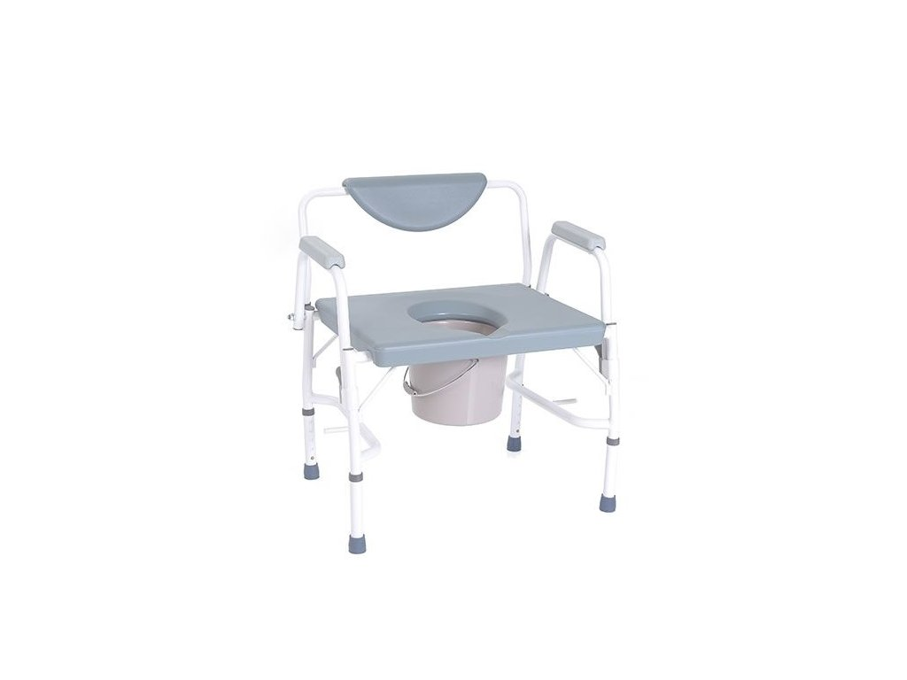 Bariatrické toaletní křeslo