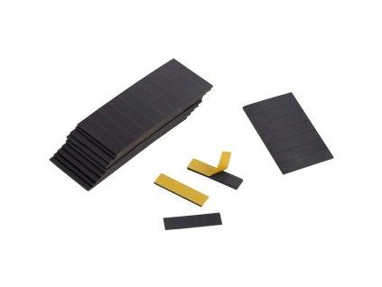 Samolepící magnetické pásky, bal. 100 ks
