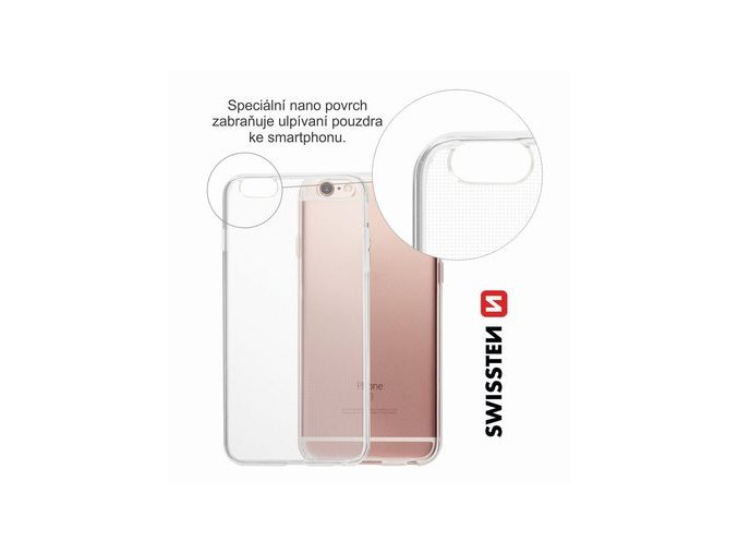 POUZDRO SWISSTEN LIGHT JELLY APPLE IPHONE 6 PLUS