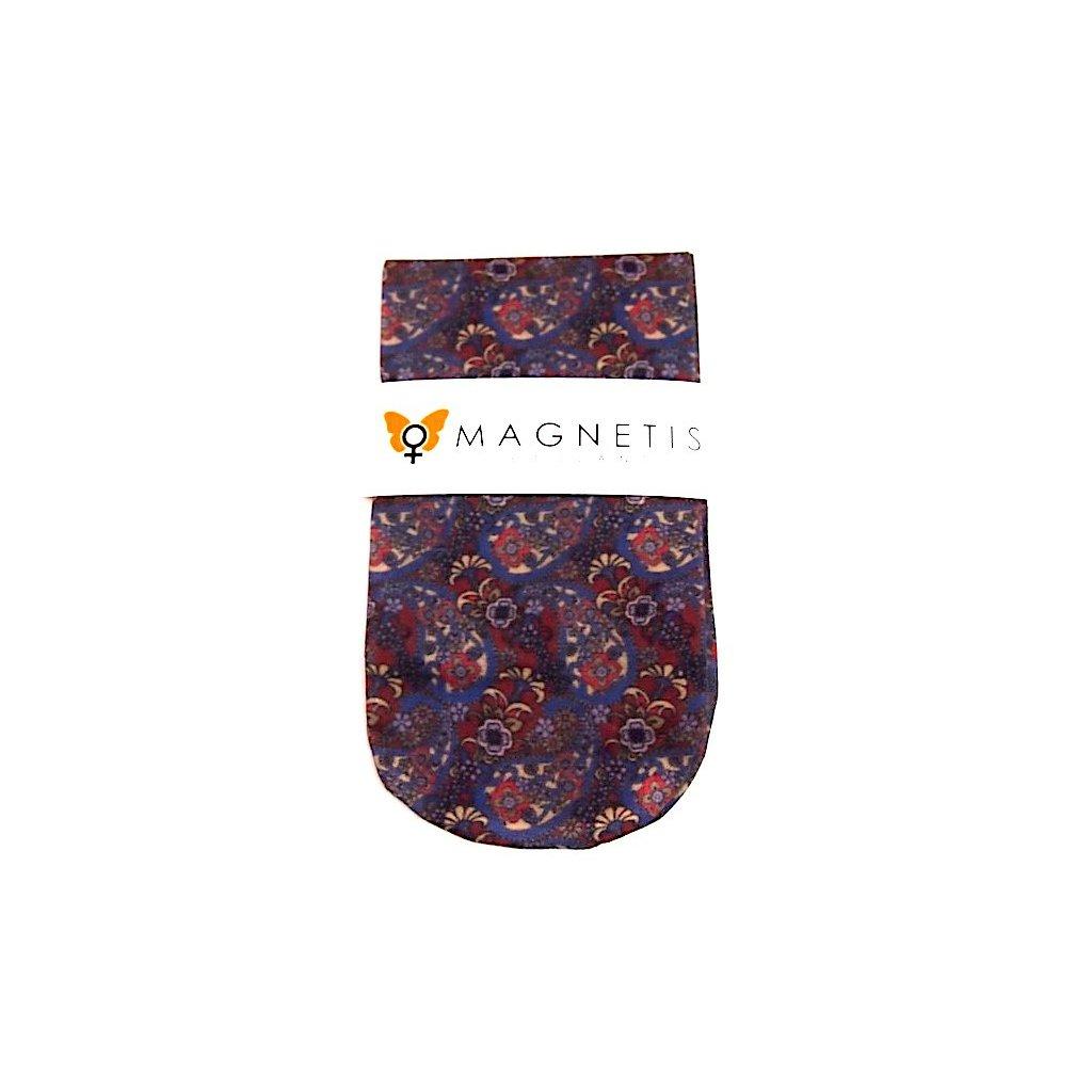 Magnetis silonové ponožky ORNAMENTY zdobené