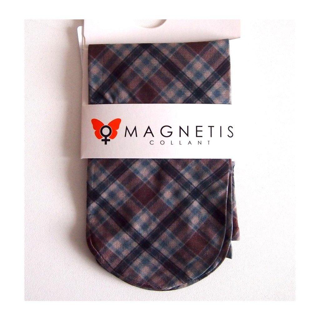 Magnetis silonové ponožky KÁROVANÉ