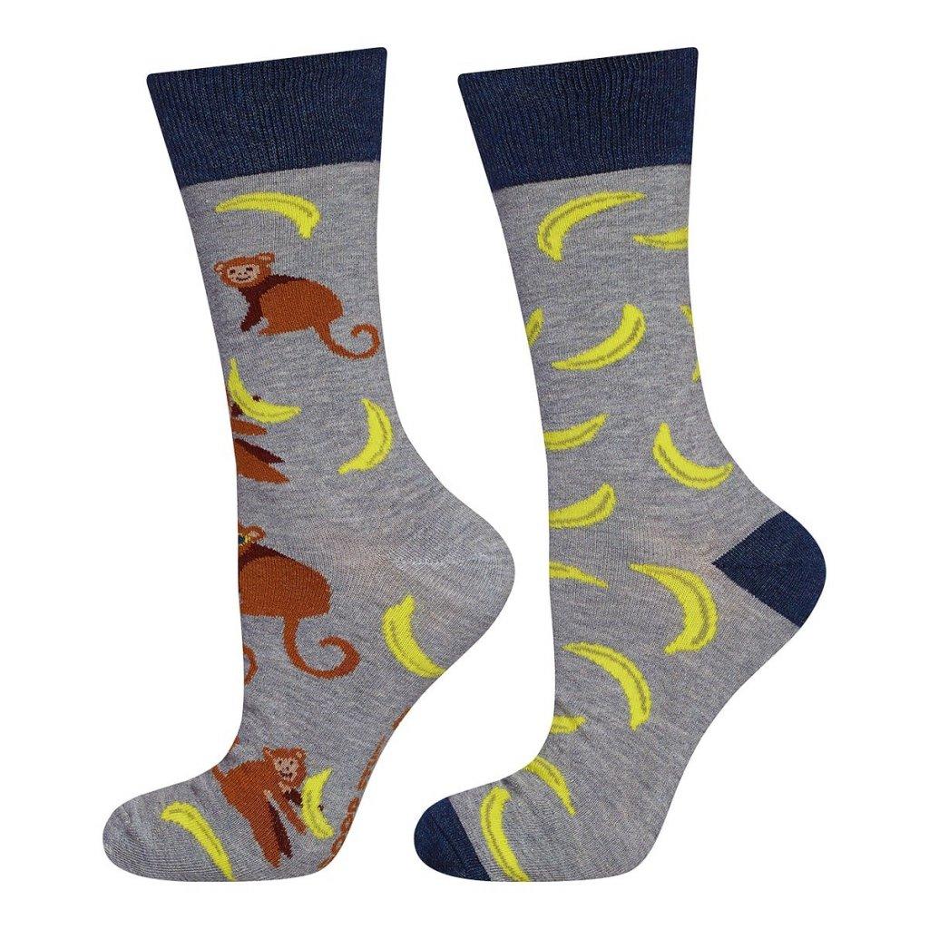 eng pl Mens socks SOXO GOOD STUFF bananas 21497 5