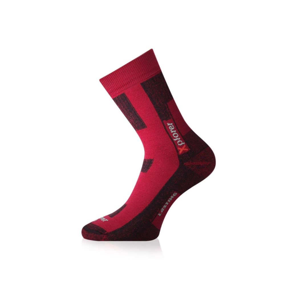 lasting funkcni ponozky tkg cervene