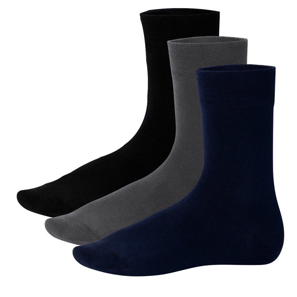 Bambusové ponožky (3 páry)