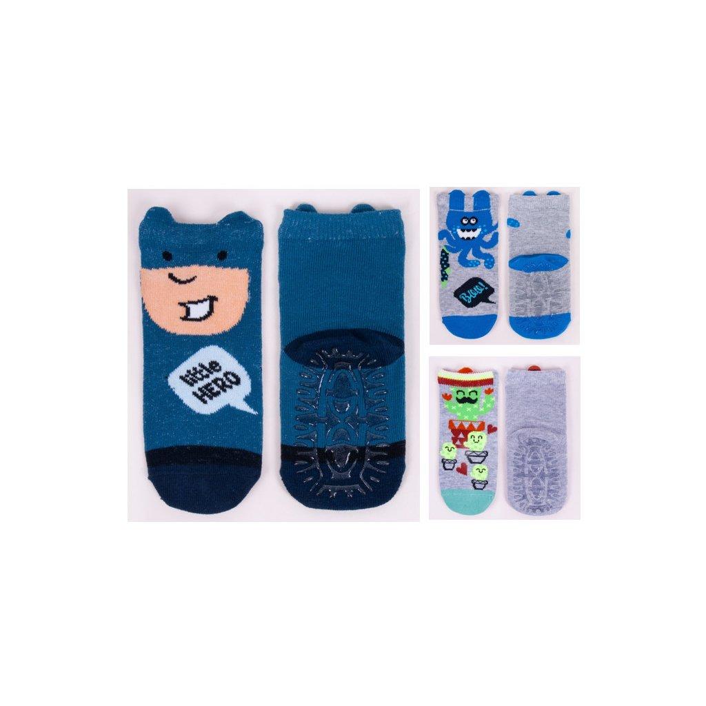 Dětské ponožky s protiskluzem