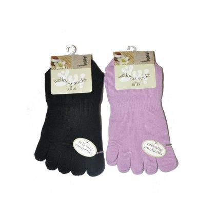 Prstové ponožky WELLNESS