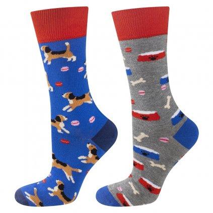 eng pl Colorful mismatched SOXO GOOD STUFF socks lighthouse 23405 5