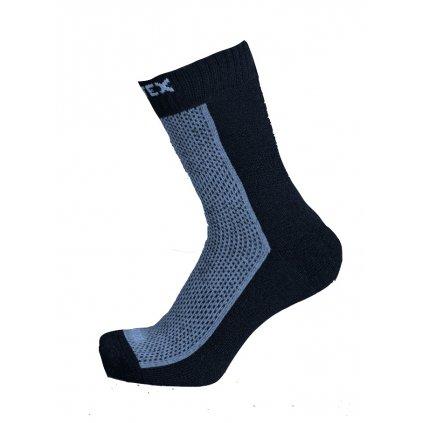 Dětské ponožky JARO 70% merina modré nahled
