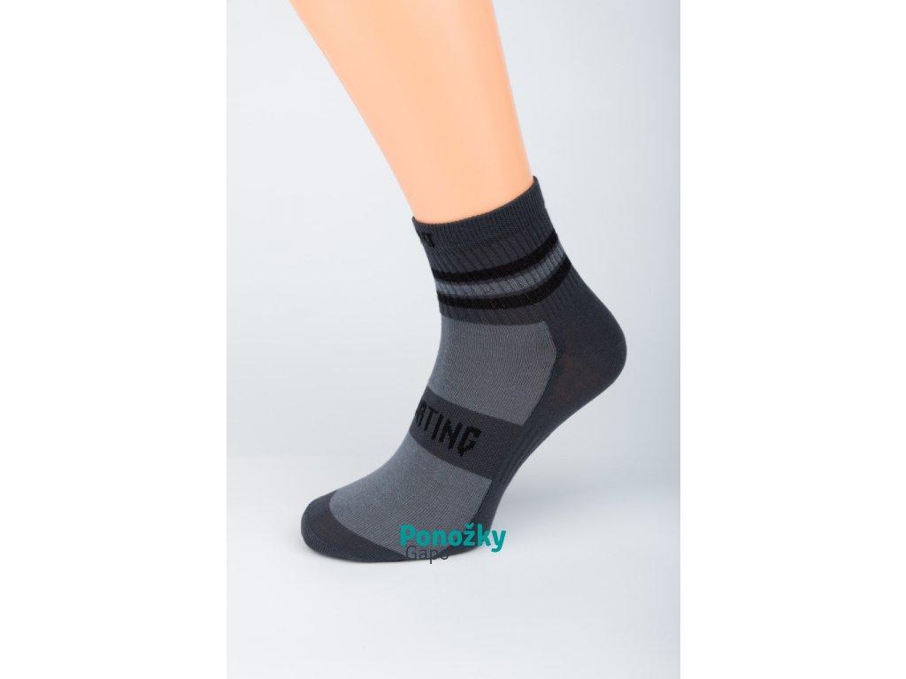 Pánské kotníkové ponožky SPORTING TMAVÝ