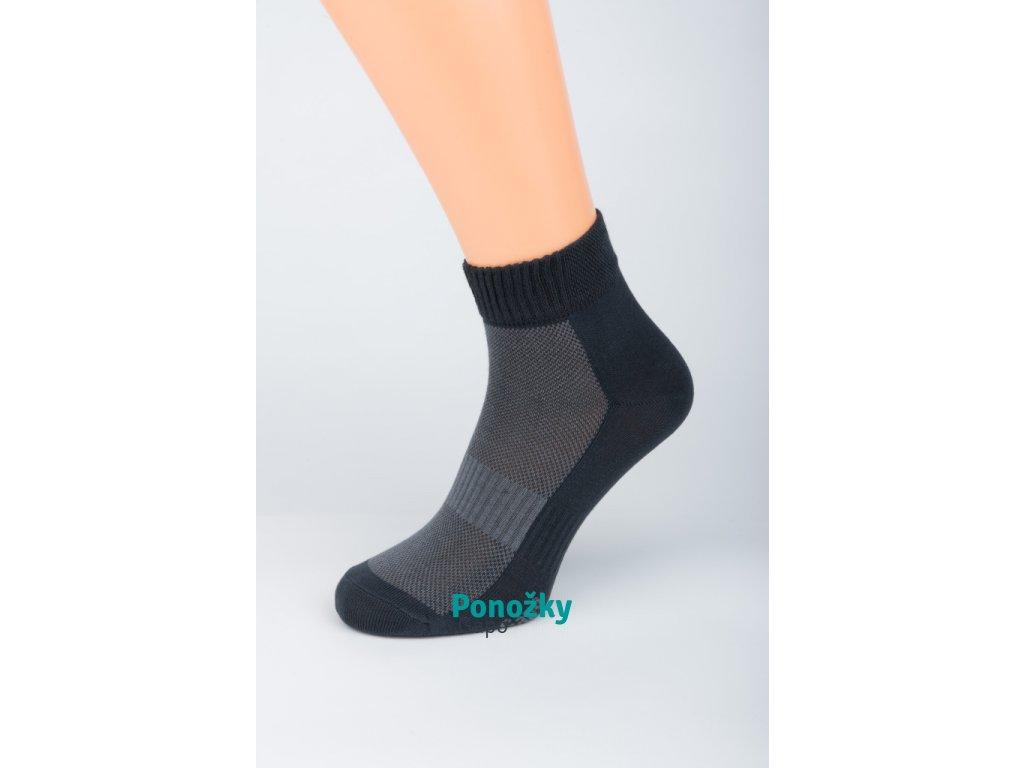 Pánské kotníkové ponožky ANTIBAKTERIA SILVER