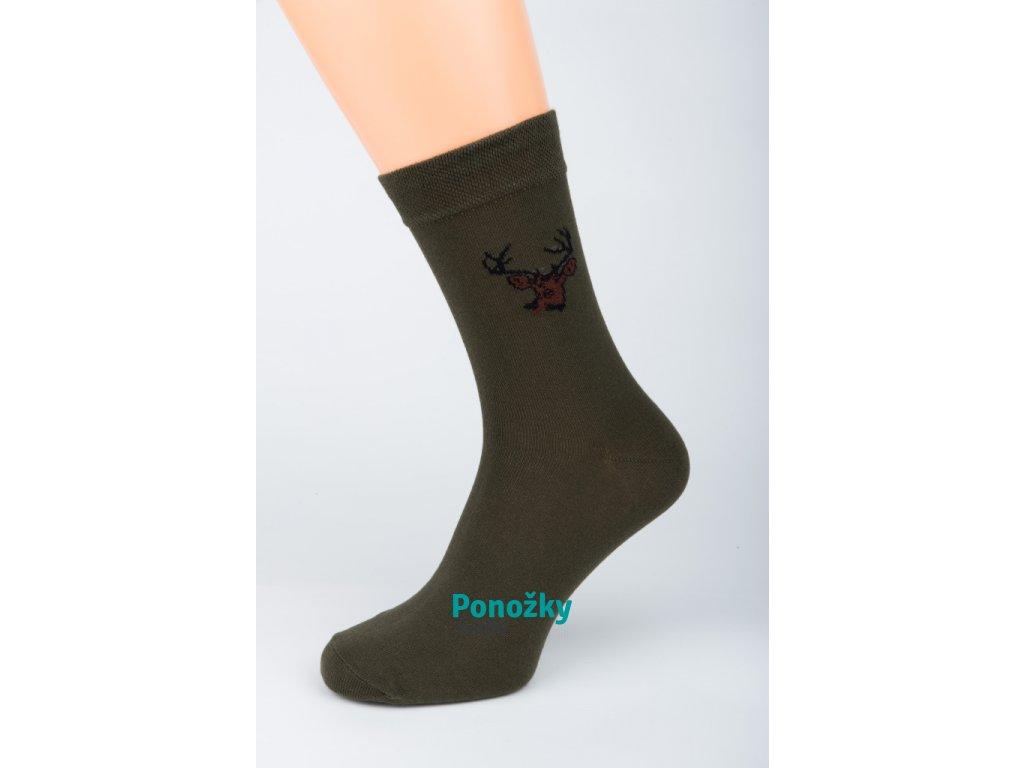 Pánské ponožky Stretch MYSLIVEC