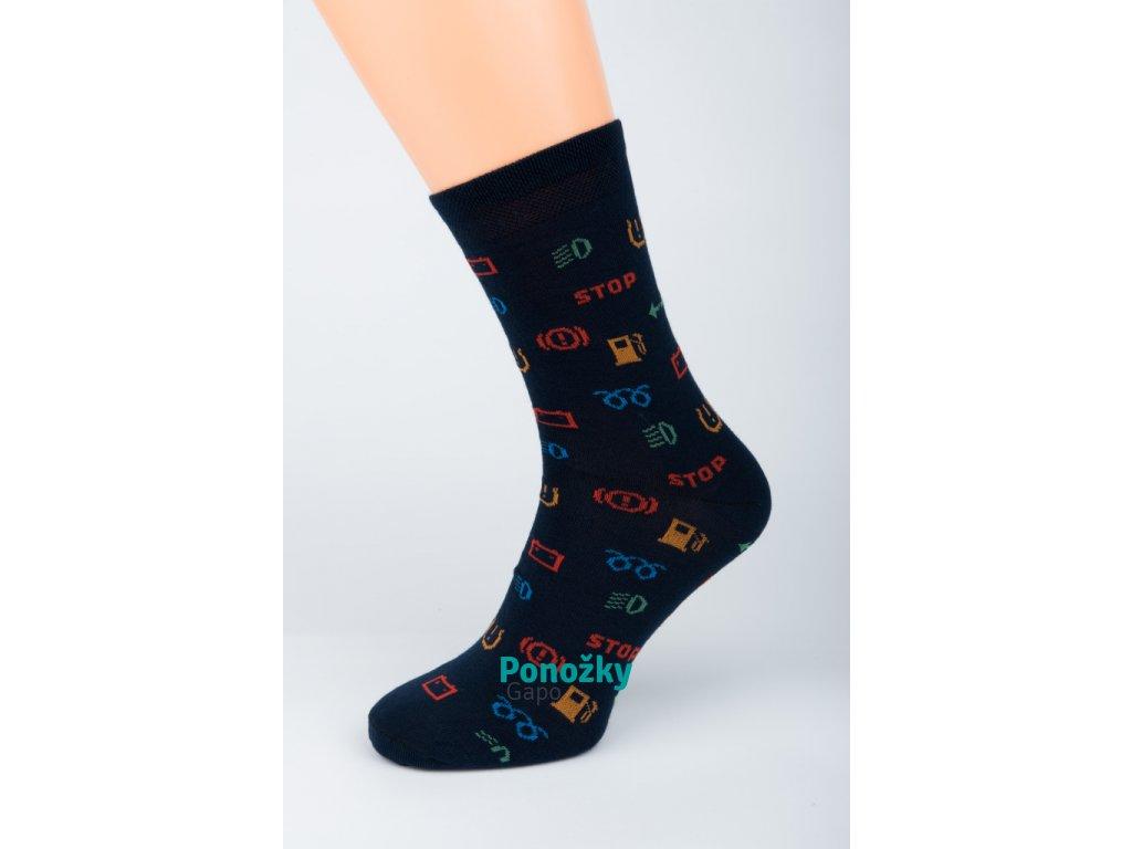 Veselé ponožky CRAZY DRIVER