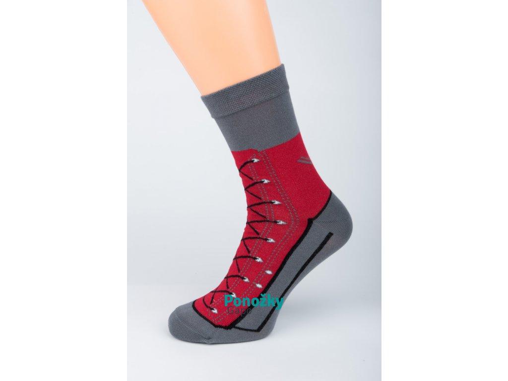 Veselé ponožky CRAZY SHOE