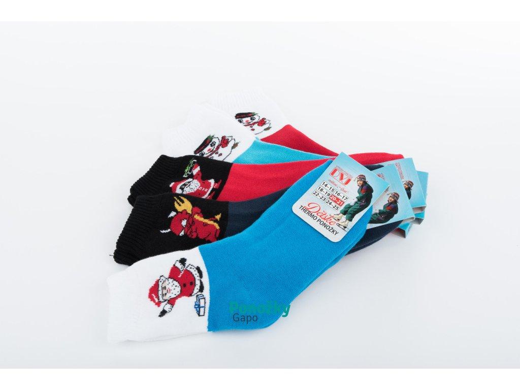 Dětské ponožky VÁNOČNÍ MIX
