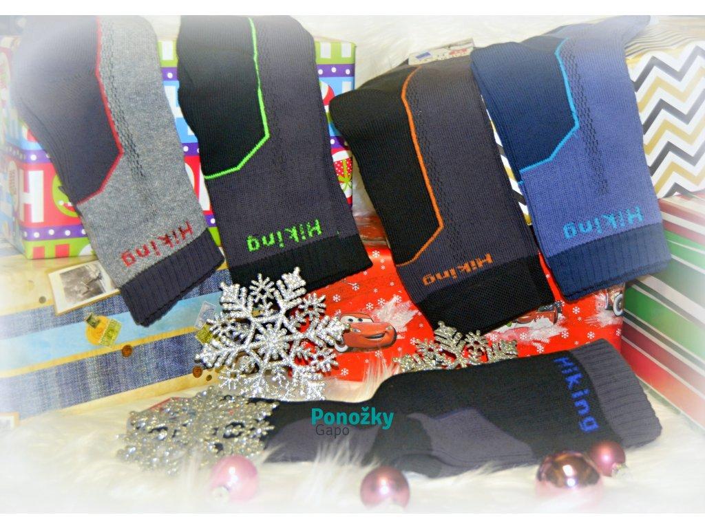 Zimní ponožky HIKING - 5 párů