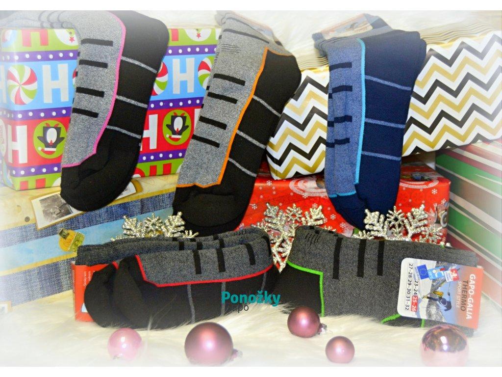 Zimní ponožky TREKING - 5 párů