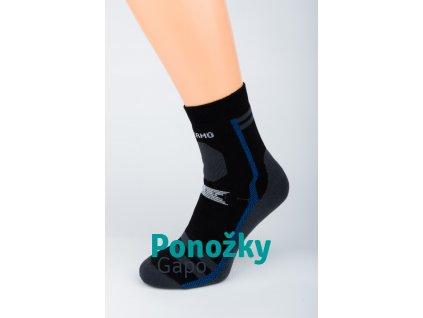 Pánské zimní ponožky GAPO TMAVÁ