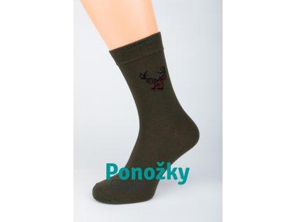 Myslivecké ponožky Stretch