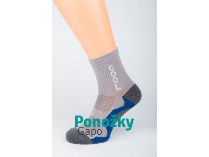 Dámské sportovní ponožky COOL TMAVÁ NEW