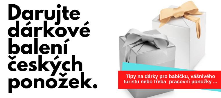 Darujte dárkové balení českých ponožek