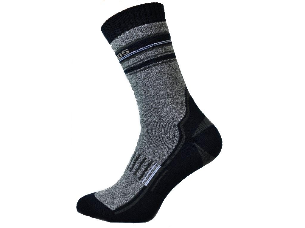 Outdoorové ponožky se stříbrem