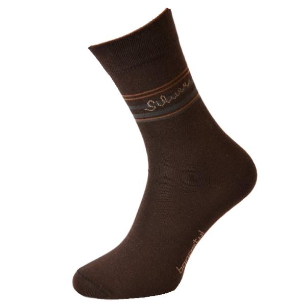 Společenské ponožky se stříbrem