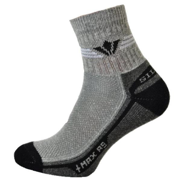 Fitness ponožky se stříbrem
