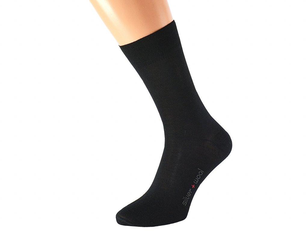 Vlněné ponožky DAVID s extra stříbrem
