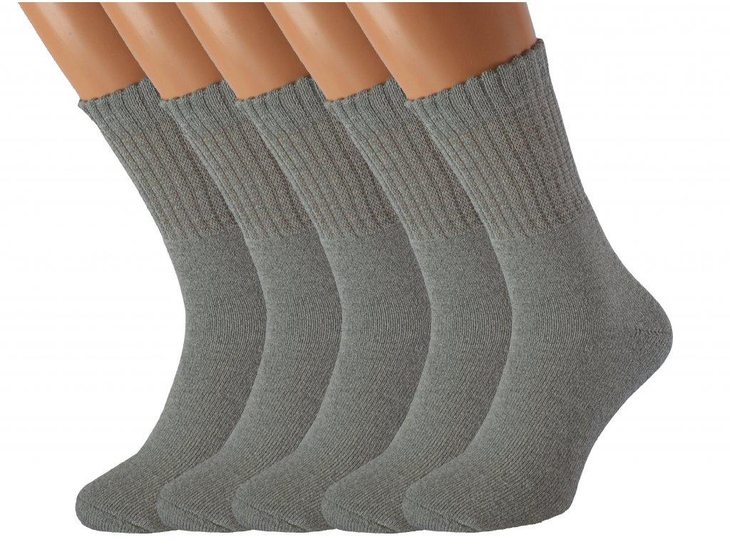 5 párů zdravotních ponožek RELAX